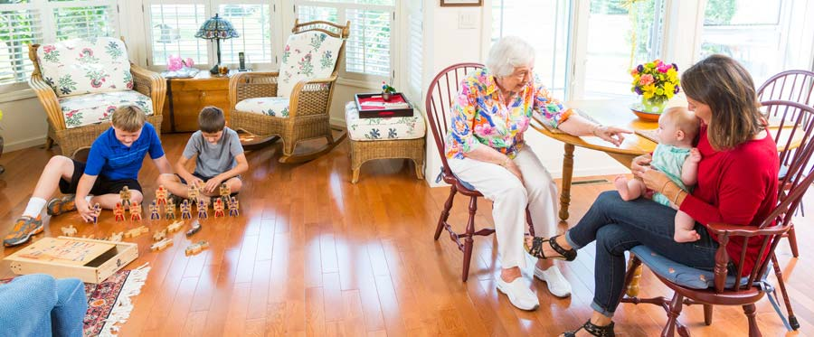 Senior Independent Living in Madison WI at Attic Angel