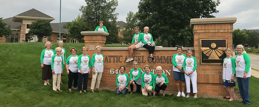 Volunteer in Middleton & Madison WI at Attic Angel Community
