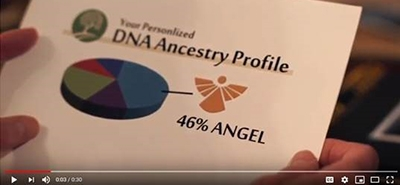 """Angel DNA"" Ad Wins Award"